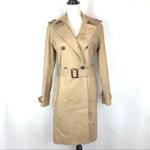 MANGO | Classic Cotton Trench Coat